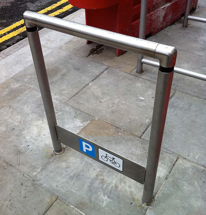 The Liverpool cycle stand