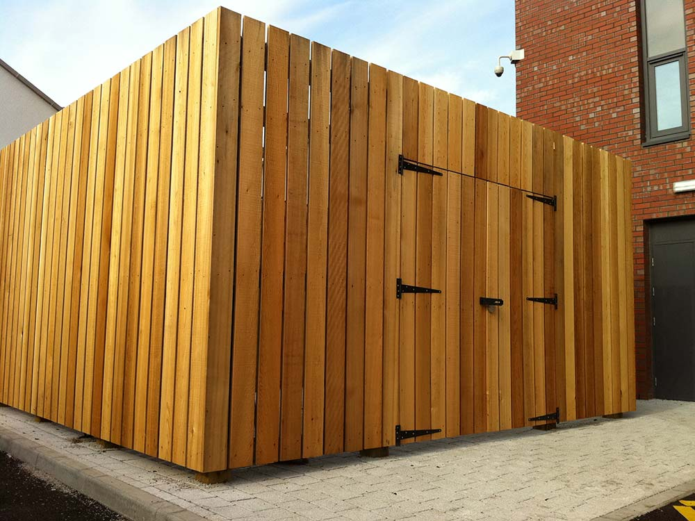 Softwood Bin Store
