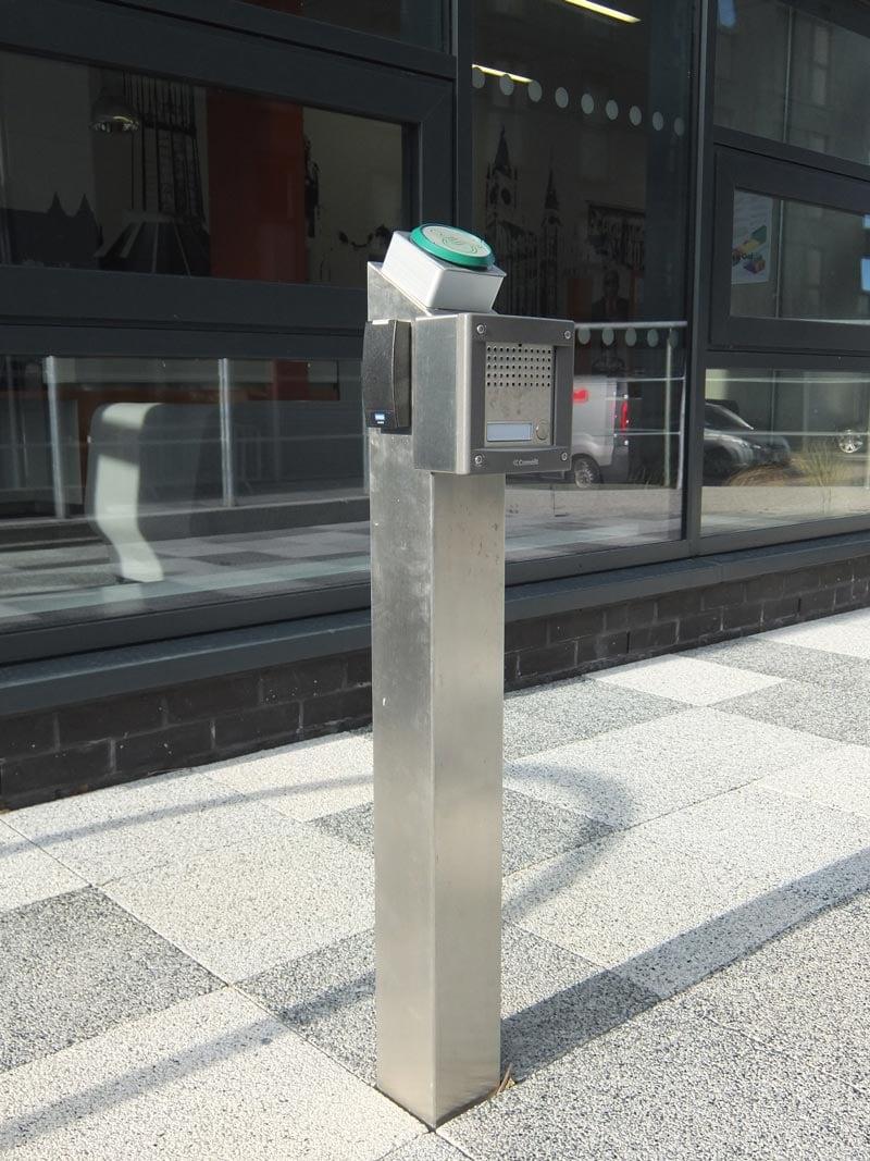 Disabled Access Amp Intercom Post Bollard Street Uk