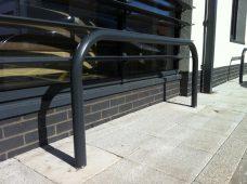 hoop barriers