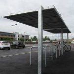 Pemberton shelter by Bollard Street, UK Street Furniture Specialists