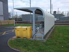 Stretford shelter by Bollard Street, UK Street Furniture Specialists