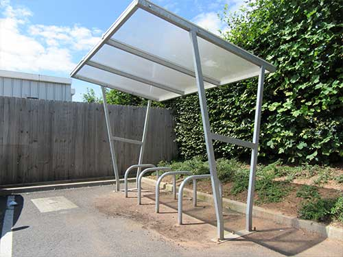 Tamworth shelter by Bollard Street, UK Street Furniture Specialists