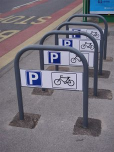 Birmingham cycle stand by Bollard Street, UK Street Furniture Specialists