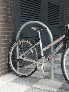 Harrogate cycle stand by Bollard Street, UK Street Furniture Specialists