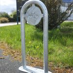 Rainford cycle stand by Bollard Street, UK Street Furniture Specialists