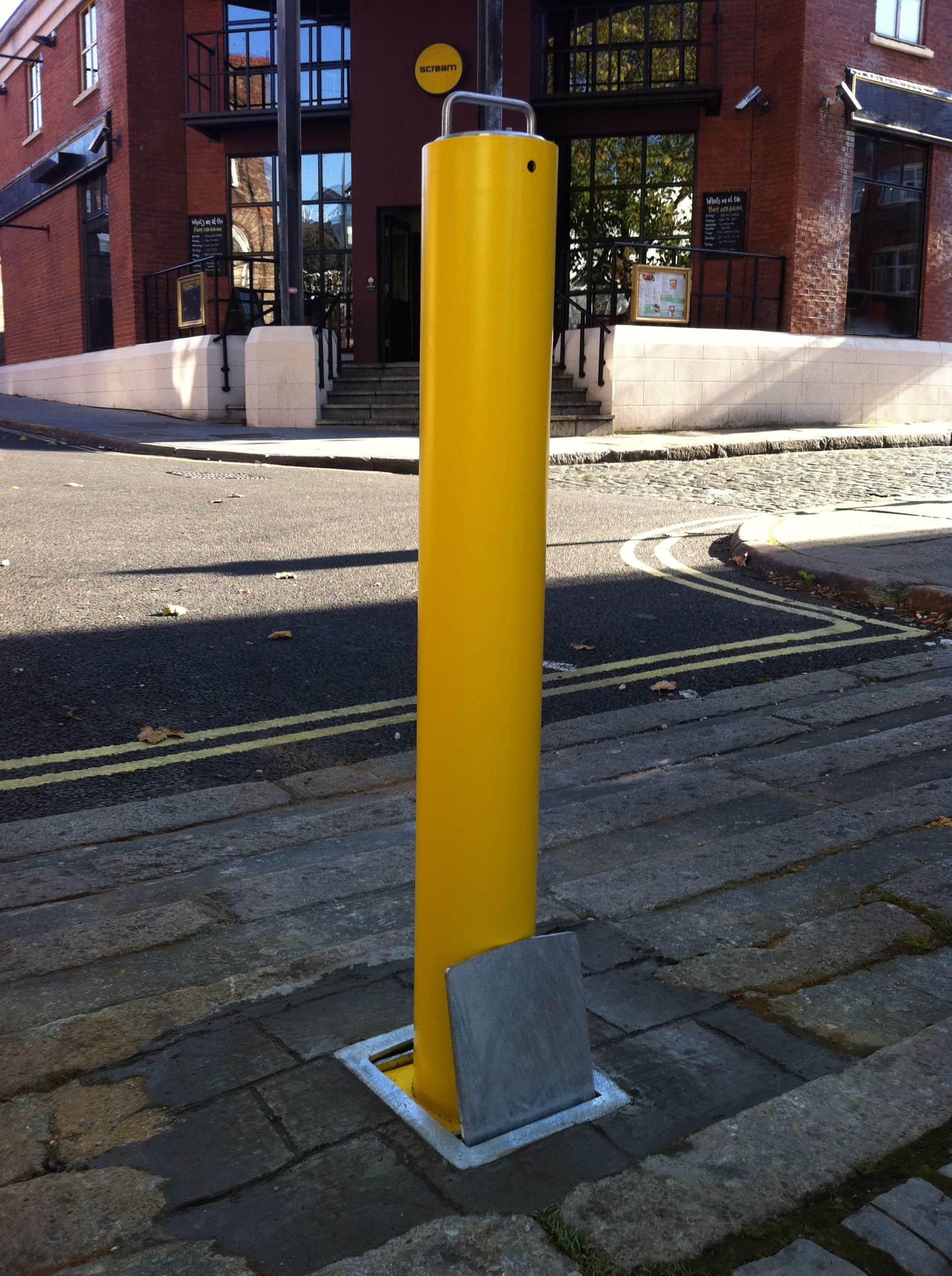 Standard Telescopic Posts Bollard Street Uk Street