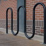 Serpent cycle stand by Bollard Street, UK Street Furniture Specialists