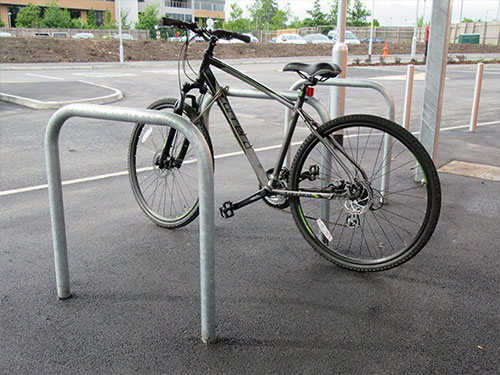 Sheffield cycle stand by Bollard Street, UK Street Furniture Specialists