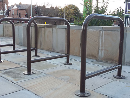 The Birmingham cycle stand