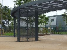 Fylde waiting shelter by Bollard Street, UK Street Furniture Specialists