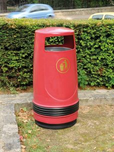 Bolton litter bin by Bollard Street, UK Street Furniture Specialists