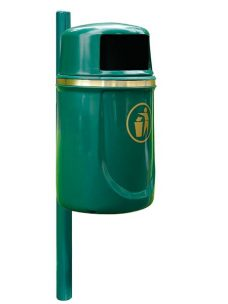 Hardwick litter bin by Bollard Street, UK Street Furniture Specialists