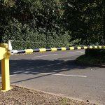 Heavy duty barrier by Bollard Street, UK Street Furniture Specialists