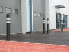 Lantern bollard by Bollard Street, UK Street Furniture Specialists