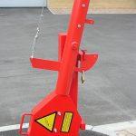 Lux heavy duty barrier by Bollard Street, UK Street Furniture Specialists