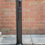 Ornate steel bollard bollard by Bollard Street, UK Street Furniture Specialists