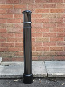 Ornate steel bollard bollard by Bollard Street, UK Street Furniture Specialists