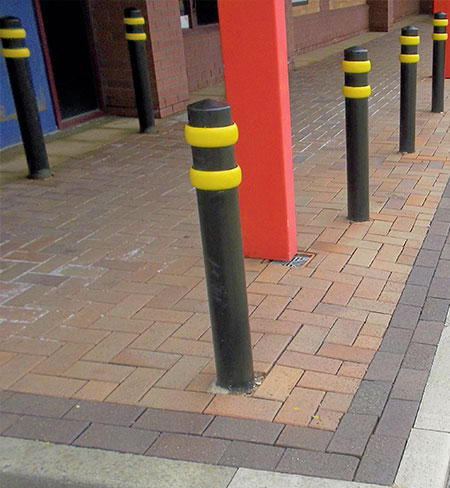 Ring bollard by Bollard Street, UK Street Furniture Specialists