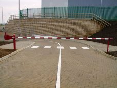 Standard duty barrier by Bollard Street, UK Street Furniture Specialists