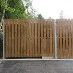 Applethwaite bin storage unit by Bollard Street, UK Street Furniture Specialists